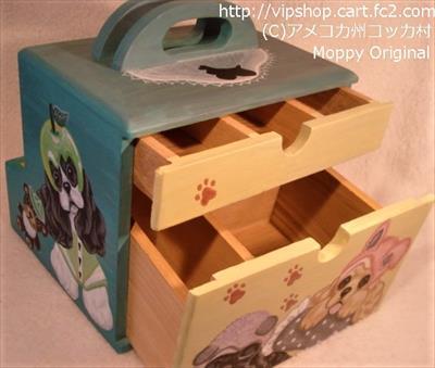 かぶり物コッカーの多目的BOX